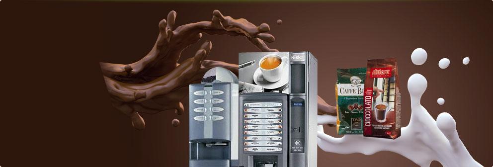 Продажа торговых автоматов и ингредиентов